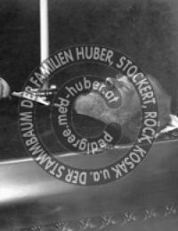 Huber, Alfons - Totenbett
